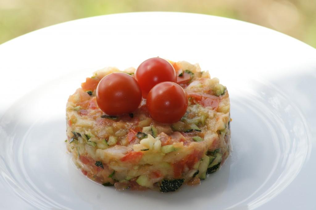 Les secrets des delices for Salade entree originale